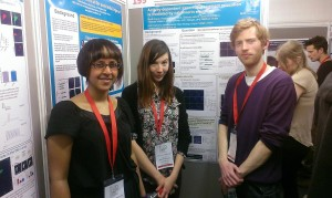 Annisa, Adna and Mark at BNA 2013, Barbican, London.